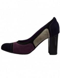 Pantofi dama, piele naturala, marca San Savana, Cod B798-7, culoare albastru