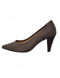Pantofi dama, din piele naturala, marca Gabor, B8128213-14, gri