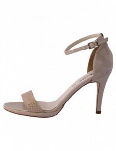 Sandale dama, piele naturala, marca Karisma, Cod B843-3, culoare bej