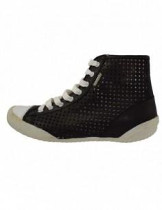 Pantofi dama, din piele naturala, marca Endican, B945-1, negru