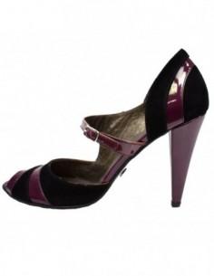Pantofi dama, piele naturala, marca Poison Concept, Cod B953318-19, culoare mov