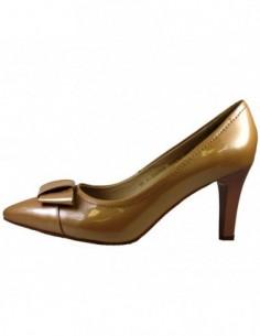 Pantofi dama, din piele naturala, marca Epica, BA2928T-3, bej