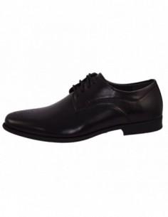 Pantofi barbati, piele naturala, marca Rieker, Cod BB2610-00-1, culoare negru
