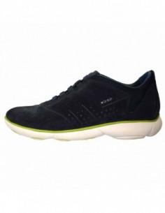Pantofi barbati, piele naturala, marca Geox, Cod D52F2A022GN-42, culoare bleumarin