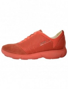 Adidasi dama, textil si piele, marca Geox, Cod D641EG-C7012-11, culoare orange