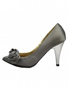 Pantofi dama, din piele naturala, marca Botta, Electra-14, gri