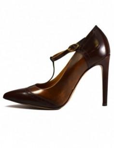 Pantofi dama, piele naturala, marca Gino Rossi, Cod Ingrid-2, culoare maro