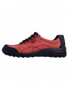 Pantofi dama, piele naturala, marca Rieker, Cod L7120-00-5, culoare rosu