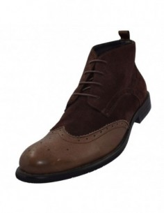 Pantofi geox din piele intoarsa bordo D34W4E