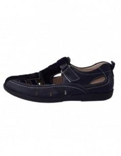 Pantofi copii, piele naturala, marca Viva Bimba, Cod oo1-42, culoare bleumarin