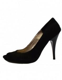 Pantofi dama, din piele naturala, marca Botta, Sonia-1, negru