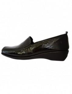 Pantofi dama, piele naturala, marca Flexx, Cod 7212A-01-01-18, culoare negru
