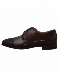 Pantofi barbati, din piele naturala, marca Geox, U620RF-2, maro