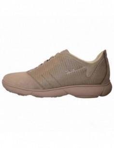 Pantofi barbati, textil si piele, marca Geox, Cod U62D7F-14-06, culoare gri