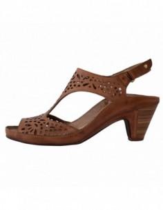 Sandale dama, piele naturala, marca Pikolinos, Cod W5A-0573-16, culoare coniac
