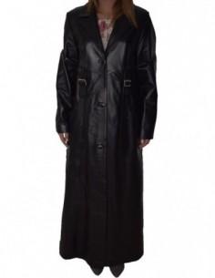 Haina dama, piele naturala, marca La Strada, Cod 0-11-1, culoare negru