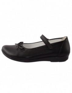 Pantofi copii, piele naturala, marca Hobby bimbo, Cod 0-4-1, culoare negru