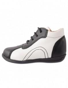 Pantofi copii, piele naturala, marca Endican, Cod 06616, culoare negru