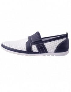 Pantofi copii, piele naturala, marca Hobby bimbo, Cod 10-13, culoare alb