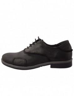 Pantofi barbati, piele naturala, marca Endican, Cod 101M054-1, culoare negru