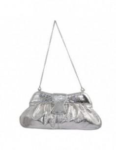 Plic dama, piele naturala, marca Gina Hess, Cod 1079-18, culoare argintiu