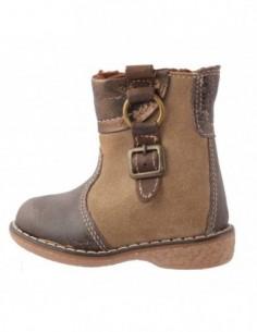Pantofi copii, piele naturala, marca Melania, Cod 1293W49-1, culoare negru