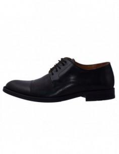 Pantofi eleganti barbati, piele naturala, marca Wanted, Cod 8005-4201N-01-73, culoare negru