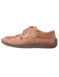 Pantofi barbati, piele naturala, marca Endican, Cod 14433-3, culoare bej