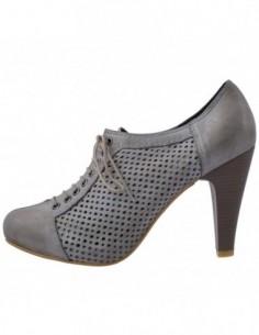 Pantofi dama, piele naturala, marca Le Scarpe, Cod 148-14, culoare gri