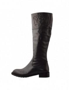 Cizme dama, piele naturala, marca Endican, Cod 168-01-72, culoare negru