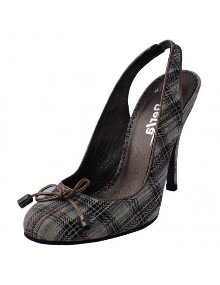 Papuci de casa Inblu din material textil multicolor BJ-66