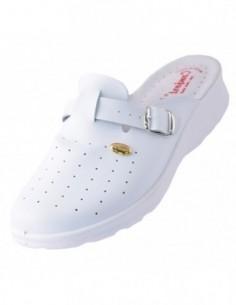 Pantofi Guban din piele naturala caramiziu 1077