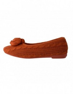 Papuci de casa dama, textil, marca Gioseppo, Cod 21327-11, culoare orange