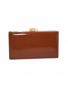 Plic dama, textil, marca Meralli, Cod 220-2, culoare maro