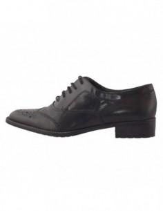 Pantofi dama, piele naturala, marca Tamaris, Cod 23308-01-10, culoare negru