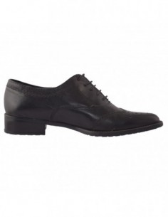 Pantofi Guban din piele intoarsa negru 3080