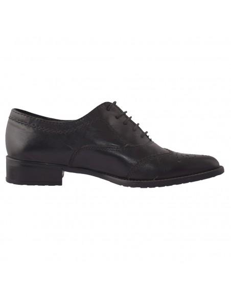 Pantofi Guban din piele intoarsa negru 3080