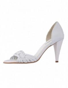Sandale dama, din piele naturala, marca Botta, 234-13, alb
