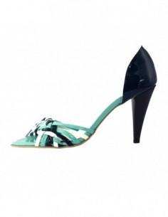 Sandale dama, din piele naturala, marca Botta, 234-7, albastru