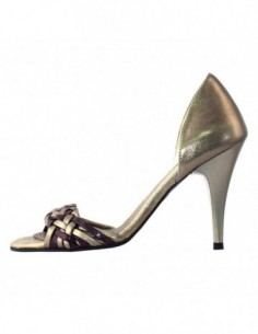 Sandale dama, piele naturala, marca Botta, Cod 234-90, culoare fumo