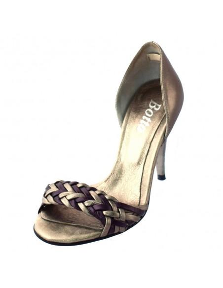 Pantofi Jana din piele intoarsa bleumarin 22202