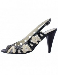 Sandale dama, din piele naturala, marca Botta, 259-3, bej