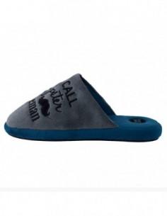 Papuci de casa barbati, textil, marca Gioseppo, Cod 26949Gentleman-14-12, culoare gri