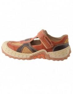 Pantofi copii, piele naturala, marca Melania, Cod 2924-38-2, culoare maro