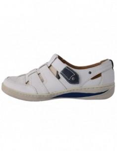 Pantofi dama, din piele naturala, marca Reflexan, 298323-14, gri
