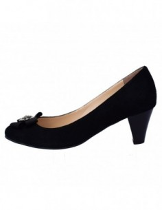 Pantofi dama, din piele naturala, marca Botta, 300-1, negru