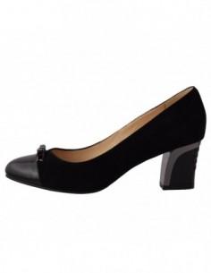Pantofi dama, piele naturala, marca Deska, Cod 30244-1, culoare negru