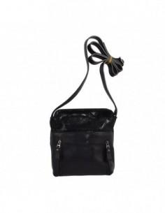 Poseta dama, piele naturala, marca Desisan, Cod 3050-1, culoare negru