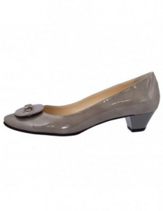 Pantofi dama, piele naturala, marca Botta, Cod 310-14, culoare gri