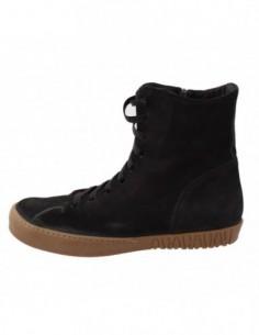 Ghete dama, piele naturala, marca Endican, Cod 4340-1, culoare negru